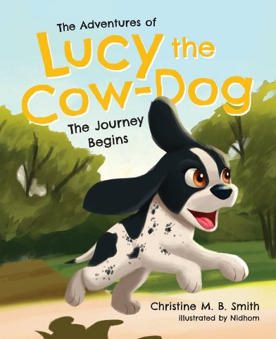 Lucy the Cow-Dog!